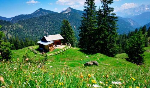 Artikelbild zu Artikel Sepp-Sollner-Hütte – Sektionseigene Hütte