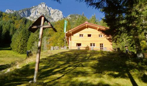 Artikelbild zu Artikel Unsere Hütten starten in die Saison
